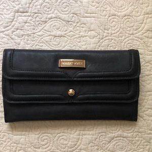 Robert Dice Black Leather Wallet